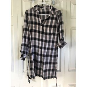 Riders by Lee Plaid dress. Size Small.